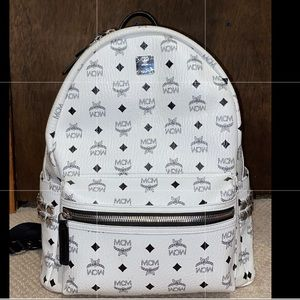 Big mcm backpack